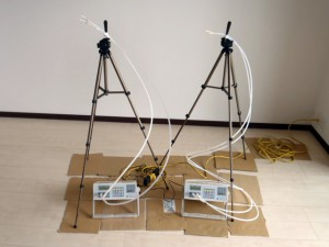 化学物質室内空気濃度測定・吸引法(アクティブ法)